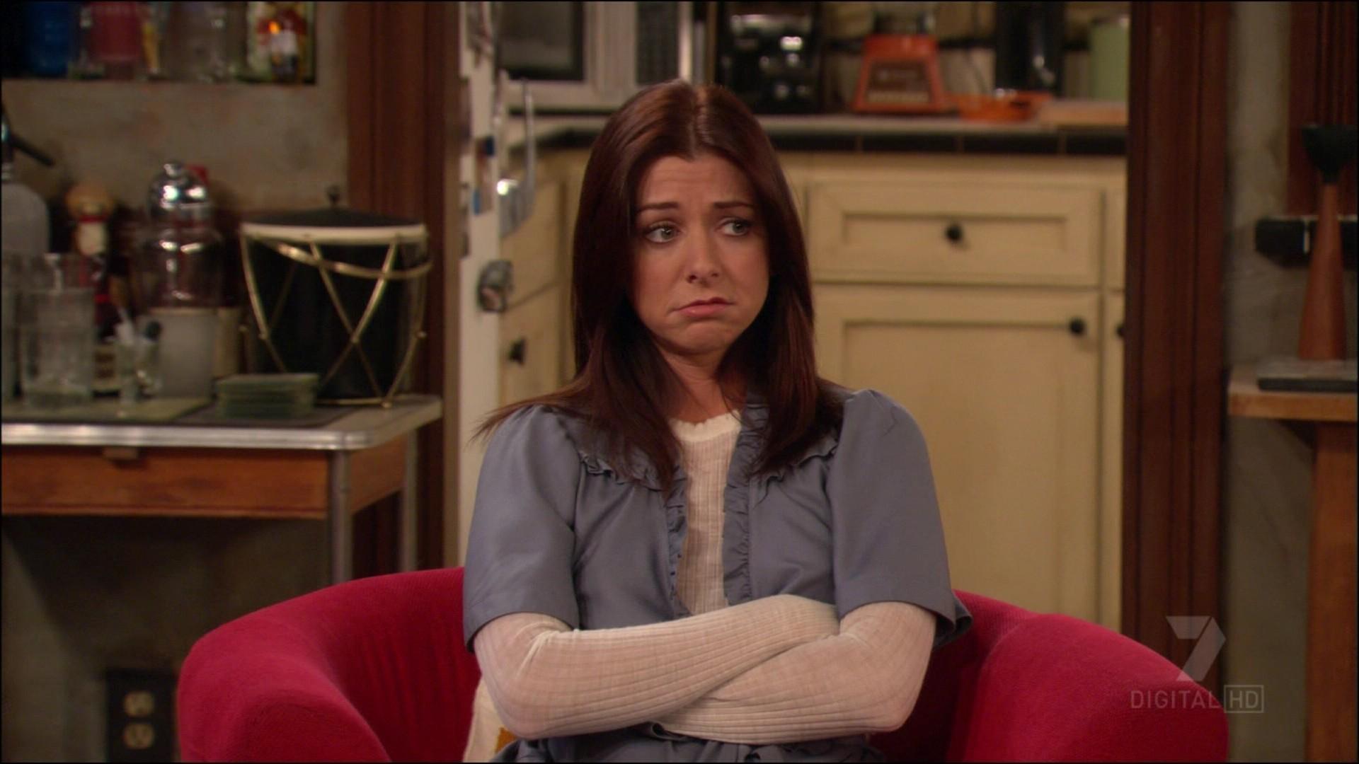 Лили в 4 сезоне как я встретил вашу маму беременна 1140
